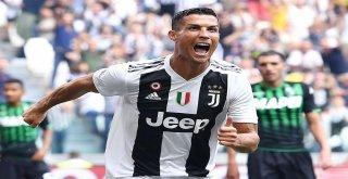 Cristiano Ronaldo, İtalyada Siftah Yaptı