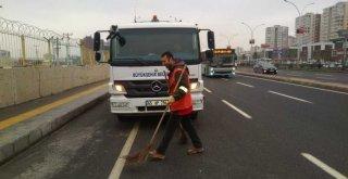 250 personel ve 28 araçla genel temizlik çalışması