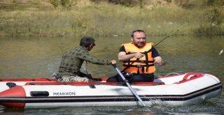 Olta Balıkçılığı Yarışmasının Türkiye Finali Kırıkkalede Yapıldı