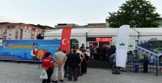 Osmangazide Gönül Sofraları Kuruluyor