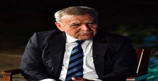 İzmir Büyükşehir Belediye Başkanı Aziz Kocaoğlu, 2019 Yerel Seçimlerine İlişkin Ahmed Adnan Saygun Sanat Merkezinde Düzenlediği Basın Toplantısında, Büyükşehir Belediye Başkanı Aday Adayı Olmayacağını