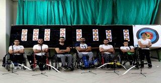 Silahlı Saldırıda Omurilik Felci Olan Engelli Murat, Hayata Ok Atarak Tutundu