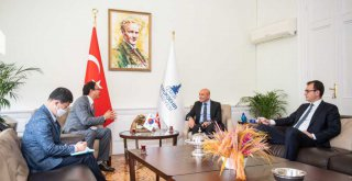 Kore'nin Ankara Büyükelçisi Soyer'i ziyaret etti