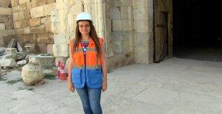 (Özel) Sekiz Asırlık Selçuklu Mirası Sultanhanı Kervansarayı Restore Ediliyor