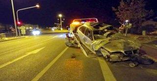 Edremitte Trafik Kazası: 1 Ölü