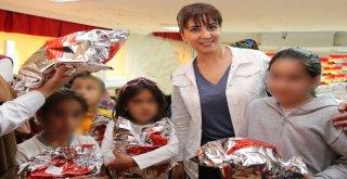 Sungurluda 61 Yetim Çocuğun Yüzü Güldü