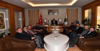 Başkan Tabana Tebrik Ziyaretleri Sürüyor