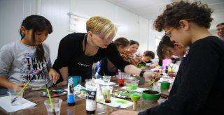 Nilüferli Çocukların Harcında Sanat Var