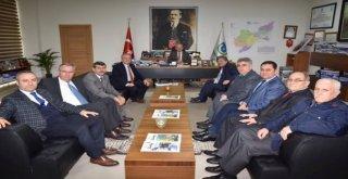 Başkan Albayraka Tüm Hayrabolulular Kültür Ve Yardımlaşma Derneğinden Ziyaret