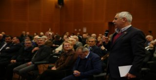 Bozbey Bursanın Geleceğini Birlikte Planlamak İçin Fikirleri Dinledi