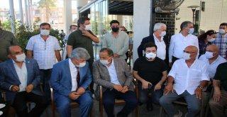 CHP VE İYİ PARTİ GENEL BAŞKAN YARDIMCILARI BAŞKAN BÖCEK'İ ZİYARET ETTİ
