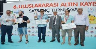 6. Uluslararası Altın Kayısı Satranç  Turnuvası Sona Erdi