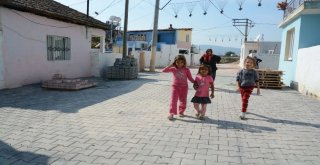 Roman Vatandaşların Yaşadığı Mahalleye 15 Bin Metrekare Kilit Taş