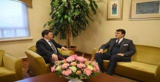 Osmangazi Belediye Başkanı Mustafa Dündar, Erkan Aydını Ağırladı