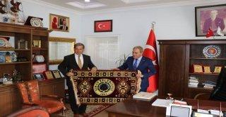 Kavuncu, Simav Belediye Başkanlığını Ziyaret Etti