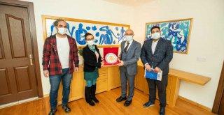 Sağlıkçılardan Başkan Soyer'e pandemi teşekkürü