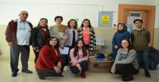 Karstaki Öğrencilere Yardım Gönderdiler