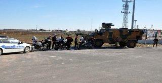 Bakan Soylunun Sınırı Ziyareti Sırasında Silah Sesleri Duyuldu