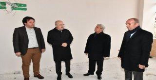Başkan Kafaoğlu  , Teknokent Binasının İnşaatında İncelemelerde Bulundu