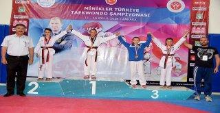 Minik Şüheda Tekvando 30 Kilogramda Türkiye Şampiyonu Oldu