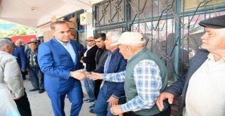 Başkan Sözlü Adanaya Kilometrelerce Uzakta 'Milletin Efendileri İle Bir Arada