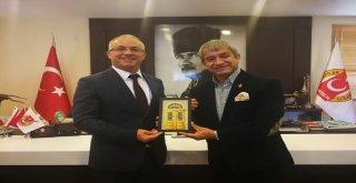 Kktcnin Antalya Başkonsolosu Ve Turizm Temsilcisinden Agcye Ziyaret