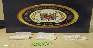 Uyuşturucuyu Kağıda Emdiren Şüpheli Yakalandı