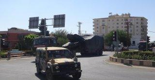 Kilisten İdlip Sınırına Askeri Araç Sevkıyatı