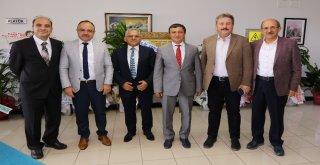 Belediye Başkanlarından Erü Rektörü Çalışa Ziyaret