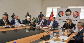 Bakan Pakdemirliden Turgut Özal Üniversitesine Ziyaret