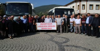 Akşehir Belediyesinden Gaziler Ve Şehit Ailelerine Çanakkale Gezisi