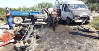 Tarım İşçileri Kaza Yaptı: 12 Yaralı