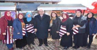 Başkan Kadir Albayrak Kadın Eli Organik Pazarının Açılışına Katıldı