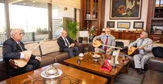 Aşıklar Başkan Soyer'i ziyaret etti