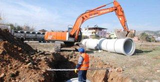 Kozan'ın kronik yağmur suyu sorunu ortadan kaldırılıyor