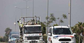 Büyükşehir, Mersin Trafiğini İyileştirecek Çalışmalara Devam Ediyor