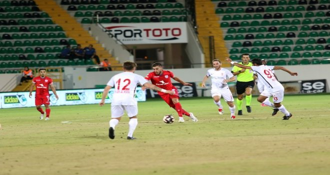 Spor Toto 1. Lig: Balıkesirspor Baltok: 0 - Altınordu: 0