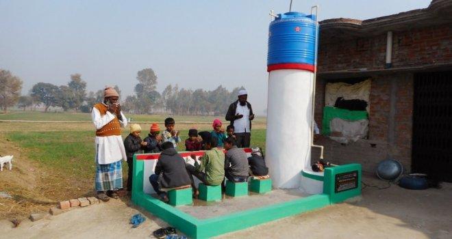 Türkiyeden Hindistana 100 Su Kuyusu