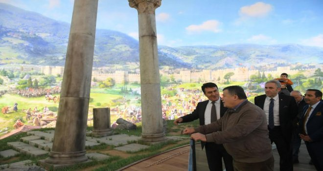 Yargıtay Başkanı Cirit Fetih Müzesini Ziyaret Etti