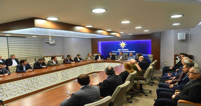 Başkan Dündardan Ak Parti Osmangaziye Teşekkür Ziyareti