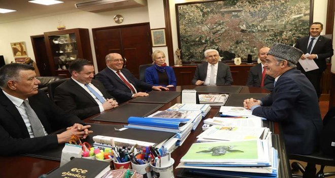 Kırım Tatar Milli Meclis Başkanından Başkan Büyükerşene Teşekkür