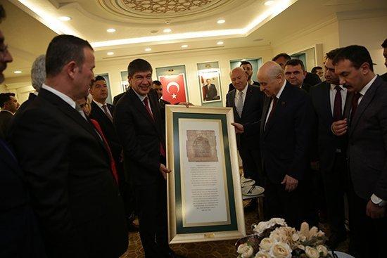 Mhp Lideri Devlet Bahçeli Başkan Türeli Ziyaret Etti