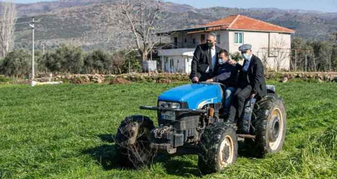 Başkan Soyer'den üreticiye müjde: 'Kooperatif çatısı altındaki üreticiden bu yıl yüz ton kestane alacağız'