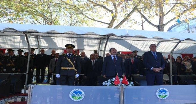 Cumhuriyetin 95. Yılı Sakaryada Coşkulu Törenle Düzenlendi
