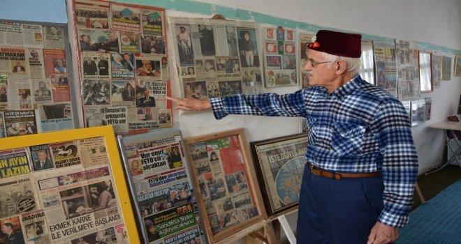 41 Yıldır Gazete Küpürlerini Topluyor