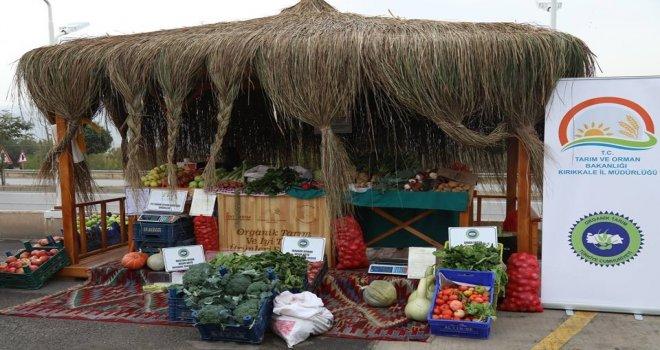 Kırıkkalede Organik Tarım Standı Açıldı
