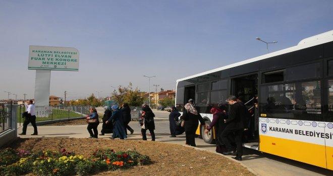 Karaman Belediyesinin Şehir Gezileri Sürüyor