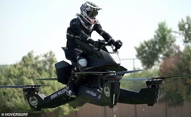 Dubai Polisi Hovercraft Kullanma Eğitimine Başladı
