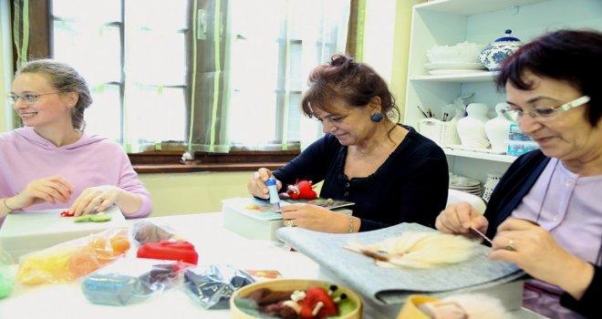 Sapancada Unutulmaya Yüz Tutmuş El Sanatlarına Sahip Çıkılıyor