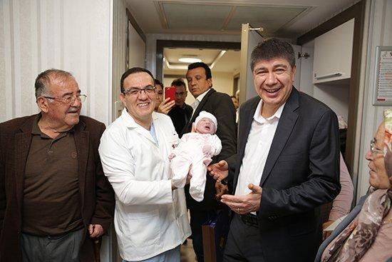 Başkan Türelden En Yeni Antalyalılara Hoş Geldin Ziyareti
